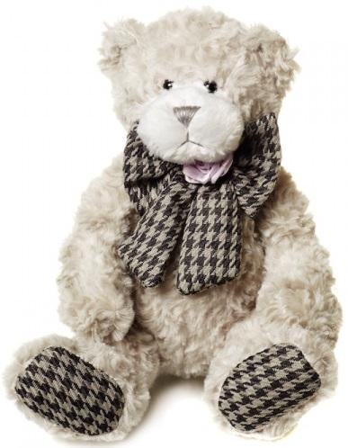 Мягкая игрушка Maxitoys Мишка Бруно с бантом, 22 смМягкий мишка Бруно обаятелен настолько, насколько вообще может быть обаятелен игрушечный медвежонок. Он выполнен в приятных глазу пастельных тонах, а на шее у него повязан украшенный прекрасной розой клетчатый бант. Мягкий искусственный мех с набивкой, из которого изготовлена игрушка, абсолютно безопасен для ребенка.<br>