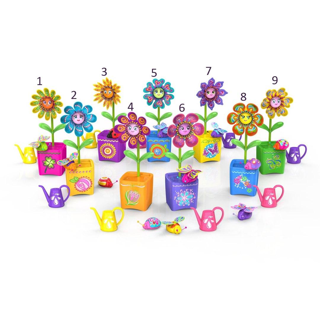 Интерактивная игрушка Волшебный цветок (звук, движение)Интерактивная игрушка Волшебный цветок от бренда Silverlit поможет ребенку с интересом и пользой провести время, погрузившись в атмосферу веселья. Главной особенностью цветка является его возможность двигаться и петь. Стоит лишь прикоснуться к горшку, как цветок начнет забавно танцевать, шевеля листочками и поворачиваясь из стороны в сторону.Помимо воспроизведения уже записанных мелодий, игрушка обладает функцией диктофона, поэтому возможность услышать свой голос из уст забавного растения доставит еще больше удовольствия. Маленькая пчелка, которая идет в комплекте, может синхронизироваться с цветком и шевелиться в такт с ним.Несколько подобных растений без проблем соединяются друг с другом посредством беспроводной связи и могут организовать целый хор. Оригинальное ожерелье (в комплекте) дополнит коллекцию украшений ребенка.Внимание! Товар представлен в ассортименте, цена указана за 1 цветок. Номер желаемой игрушки указывайте в комментарии к заказу.<br>