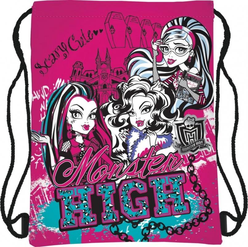 Сумка-рюкзак для обуви Monster High цена 2016