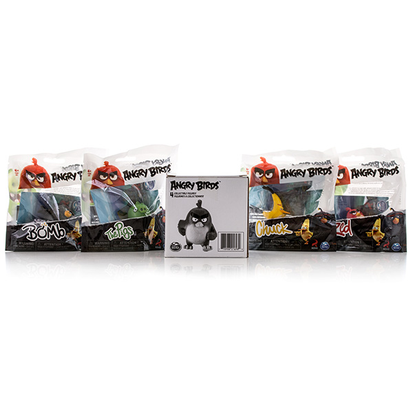 Игрушка Angry Birds набор из 4 сердитых птичек