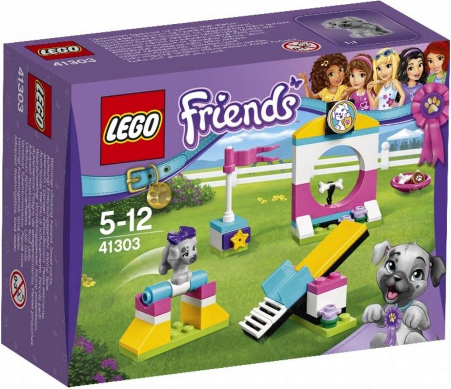 Конструктор Lego Friends 41303 Выставка щенков: Игровая площадка lego friends выставка щенков игровая площадка