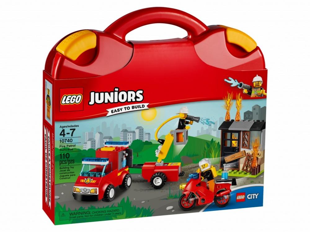 """Купить со скидкой Конструктор Lego Juniors """"Чемоданчик Пожарная команда"""""""