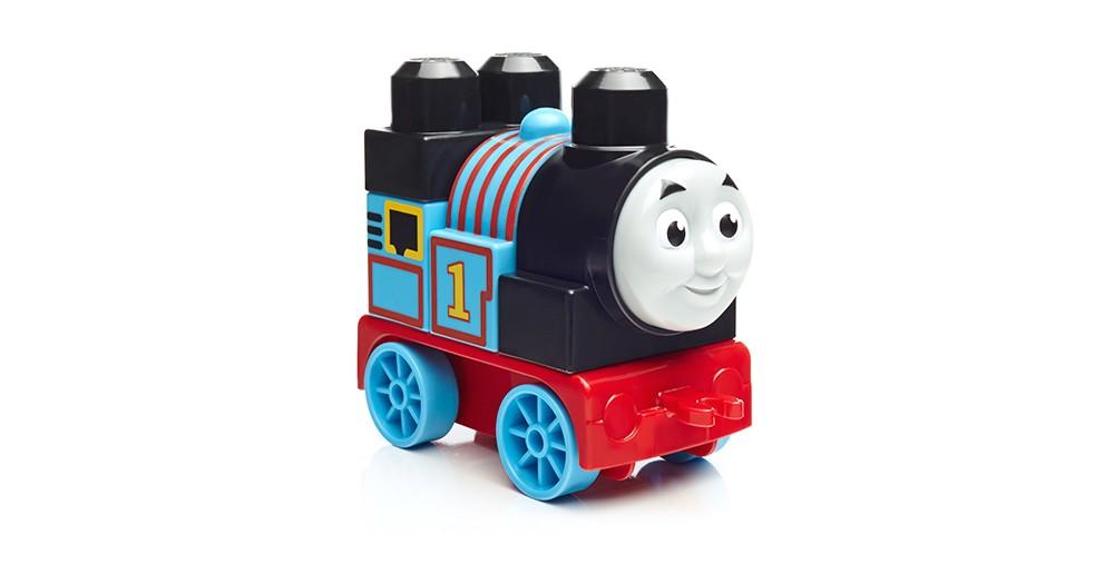 Паровозик DXH47 Томас и друзьяЭто Томас, но таким вы его еще не видели! Самые маленькие поклонники Томаса теперь могут собирать свой любимый синий паровозик из больших блоков и основания с колесиками. Объезжайте веселый остров Содор и смотрите, как Томас едет на всех парах! Или соедините его с другими сборными паровозиками для еще более увлекательной игры на железной дороге! Идеальные игрушки для детей в возрасте от 1 года до 5 лет Легко собираемый персонаж Томас 5 деталей включают колесную базу Идеальные кубики для маленьких ручек малыша Соединяйте с другими сборными паровозами для еще более веселой игры Комбинируйте с другими игровыми конструкторами Томас и друзья от Mega® Bloks Соберите их все и постройте большой мир приключений на острове Содор!<br>
