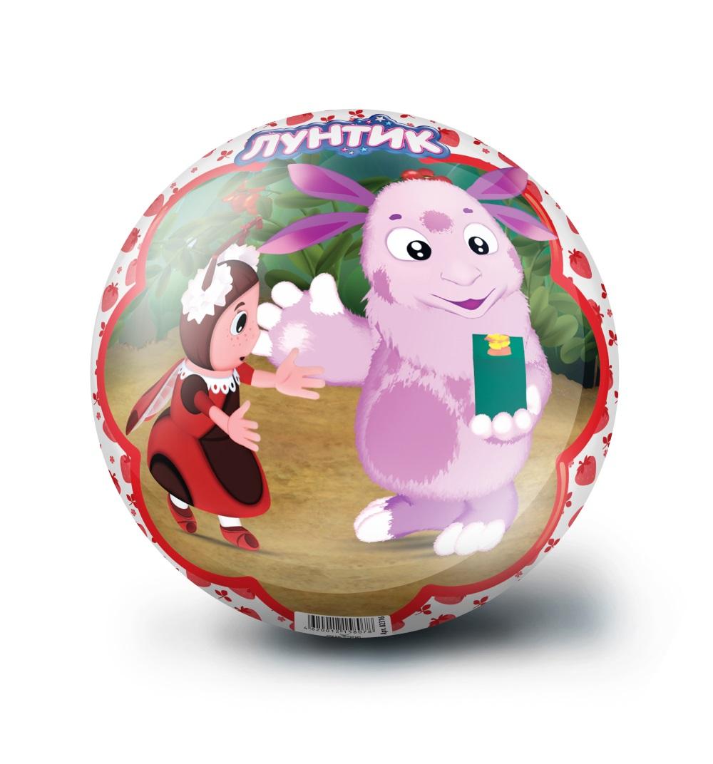 Мяч 23 см Лунтик красныйМяч с изображением любимых героев несомненно порадует каждого маленького поклонника. Мяч сделан из безопасных материалов. Предназначен для игры на открытом воздухе и в помещении.<br>