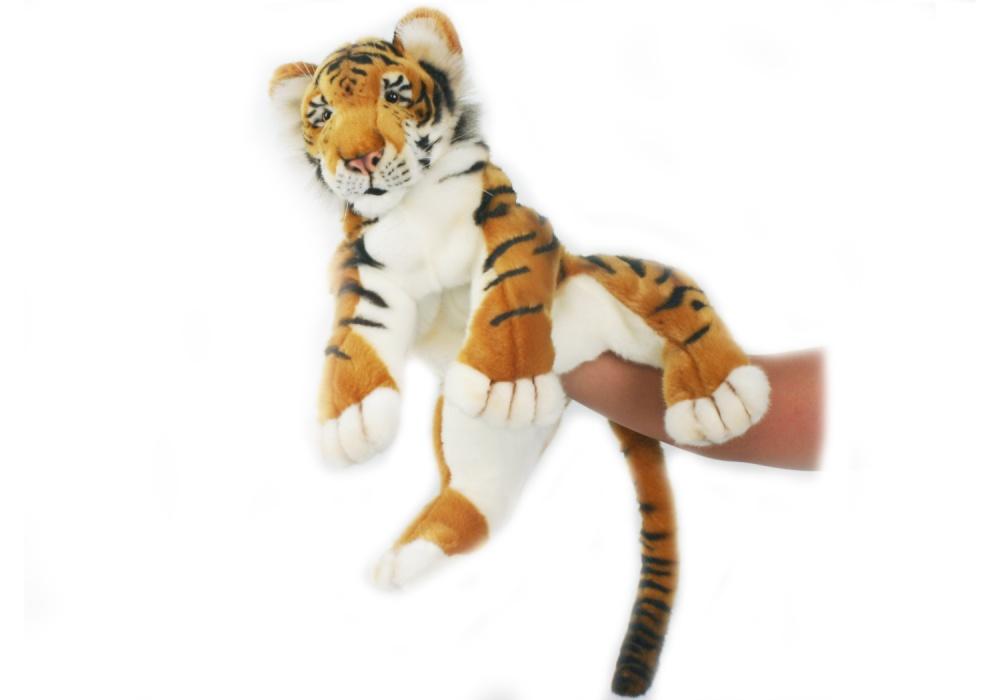 Тигренок игрушка на руку hansa мягкая игрушка тигренок
