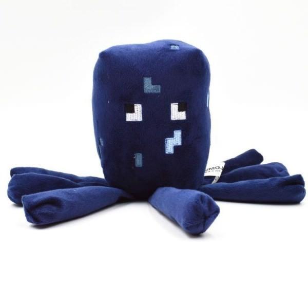 Осьминог Майнкрафт 14см. Плюшевая игрушка Minecraft Squid 16532 3 мягкая игрушка minecraft летучая мышь bat 16536 jazwares