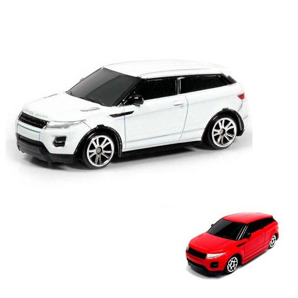 Металлическая машина Range Rover Evoque, 1:64Металлическая машинка Range Rover Evoque P - модель современного городского автомобиля, выполненная в масштабе 1:64. У машины отлично продуманный дизайн с удлиненным кузовом и большим багажником. Колесные диски выполнены в виде солнышка. С таким автомобилем мальчик сможет придумать множество сценариев для увлекательной игры. Внимание ! Товар представлен в ассортименте. Цена указана за 1 игрушку. Доступные цвета: белый / красный. Цвет желаемой машинки указывайте в комментарии к заказу.<br>