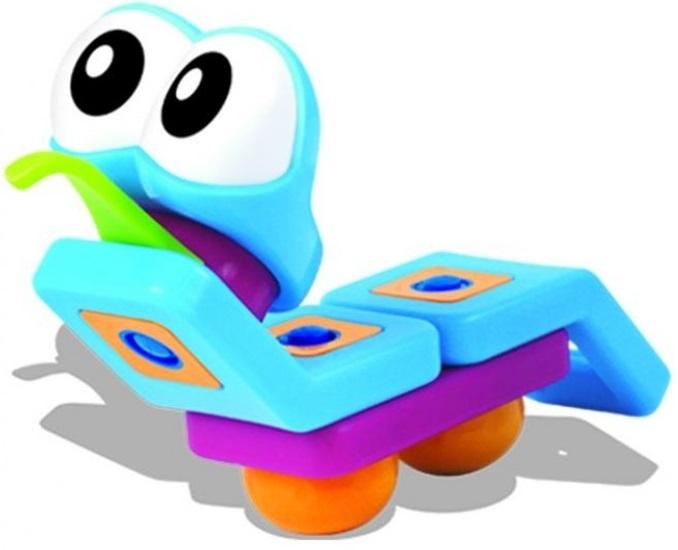 Мой первый конструктор Bebelot basic Гусеница, бабочка, 3 в 1Детский конструктор, состоящий из крупных пластиковых деталей, подарит ребёнку море радости и позитива. Сборка абсолютно безопасна для ребёнка благодаря прочным материалам конструктора и инструментов к нему. Из ярких деталей легко получается бабочка или гусеница (всего 3 варианта сборки). Конструктор не только станет отличным развлечением для малыша, но и поспособствует развитию у него фантазии, пространственного мышления, мелкой моторики и усидчивости.<br>