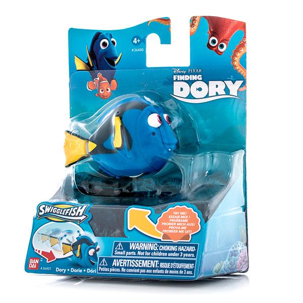 Функциональная фигурка 5-8см в асс.Игрушки Finding Dory выполнены в виде небольших фигурок, ярких и красочных. Каждая изображает одного из персонажей мультфильма В поисках Дори. В нем в главной роли выступит симпатичная рыбка Дори, она снова отправится в путешествие бок о бок с Марлином. Вместе они попытаются отыскать семью Дори, а заодно познакомятся с новыми персонажами и обретут новых друзей.Ассортимент состоит из 6 фигурок с изображением одного из героев - очаровательную Дори, любопытного Немо, белуху Бейли, дружелюбного осьминога Хэнка и Китовую акулу Кей Ди. Игрушки функциональны умеют двигать плавниками и хвостами, благодаря чему играть с ними еще веселее и интереснее!Фигурки выполнены из высококачественной пластмассы, их длина составляет от 5 до 8 см.Игрушка представлена в ассортименте, выбранный вариант в поставке не гарантирован. Цена указана за 1 фигурку.<br>