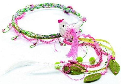 Повязка для волос Птицы riffi повязка для волос цвет коралловый