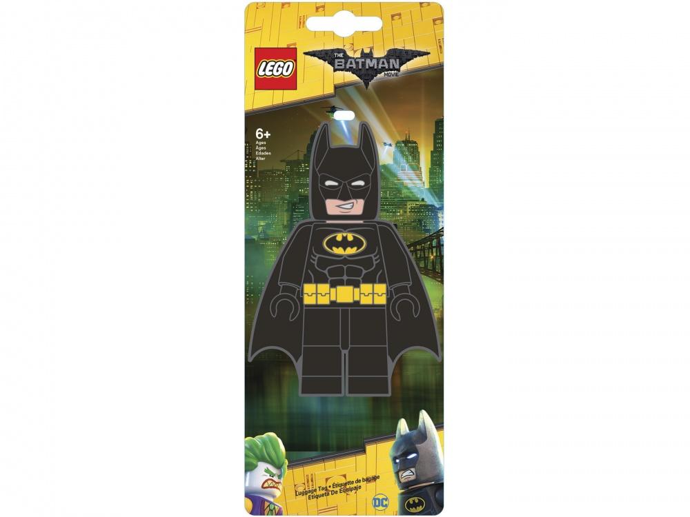 Lego Batman Movie Бирка для багажа BatmanБирка для багажа для настоящего фаната серии Batman Movie.<br>
