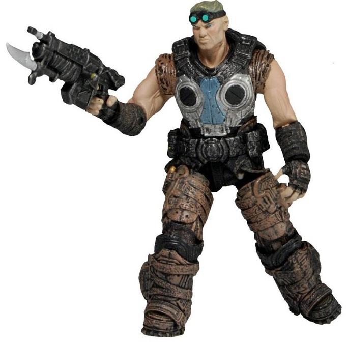 Фигурка Neca Gears of War 3 3/4 Series 1-Damon BairdNECA сопровождала все серии игры Gears of War выпуском фигурок главных героев и их врагов, улучшая и дополняя дизайн от части к части.<br>