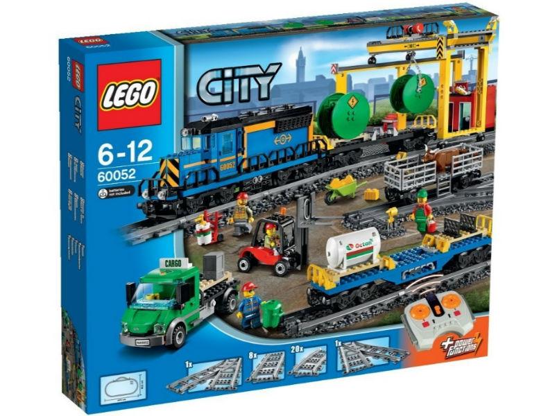 Конструктор Lego City Trains 60052 Грузовой поезд