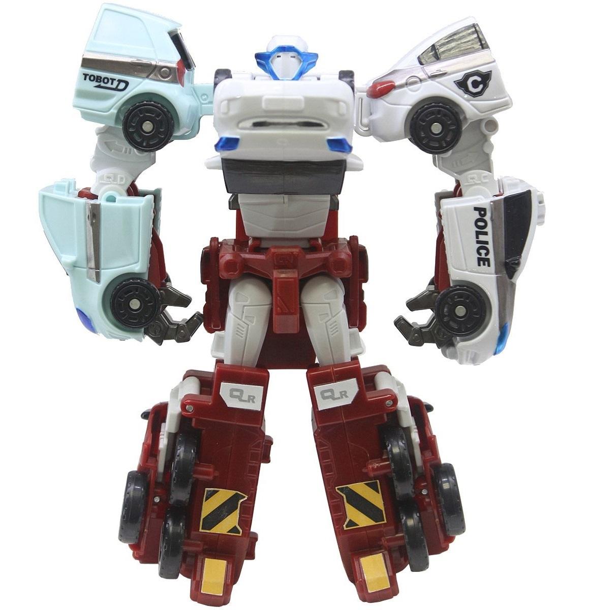 Трансформер Мини-Тобот КатранТрансформер Мини-Тобот Катран от компании Young Toys представляет собой великолепную игрушку, выполненную по мотивам знаменитого мультфильма.Изделие выглядит весьма реалистично, отличается ярким внешним видом, компактным размером, притягательным дизайном и изготовлено из надежного пластика. Этого трансформера дети смогут с легкостью превратить в четыре разнообразные транспортные средства, оснащенные крутящимися колесами с рельефными протекторами. Дополняют комплектацию этого замечательного набора красочные наклейками, которыми мальчики смогут украсить свои машины. С данным трансформером дети смогут придумывать массу захватывающих и увлекательных сюжетно-ролевых игр и весело проводить свое свободное время.<br>