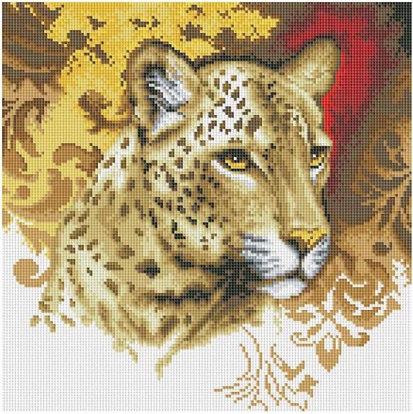 Мозаика на подрамнике Белоснежка Портрет леопарда 30*30 смПроцесс создания мозаичной картины способен увлечь как ребенка, так и взрослого. Бренд Белоснежка предлагает вниманию юных художников набор для творчества Портрет леопарда , который содержит необходимые материалы для создания красивой поделки. Для начала необходимо высыпать искусственные камни в специальный лоток, откуда их удобно доставать пинцетом. Внимательно изучив инструкцию, можно начинать работать. Искусственные камни смазываются клеем и прикладываются в специально отведенные на холсте места ряд за рядом.В результате увлекательного творческого процесса получится красочная переливающаяся картина с изображением грациозного леопарда. Готовую поделку можно подарить близкому человеку или использовать как предмет интерьера.<br>
