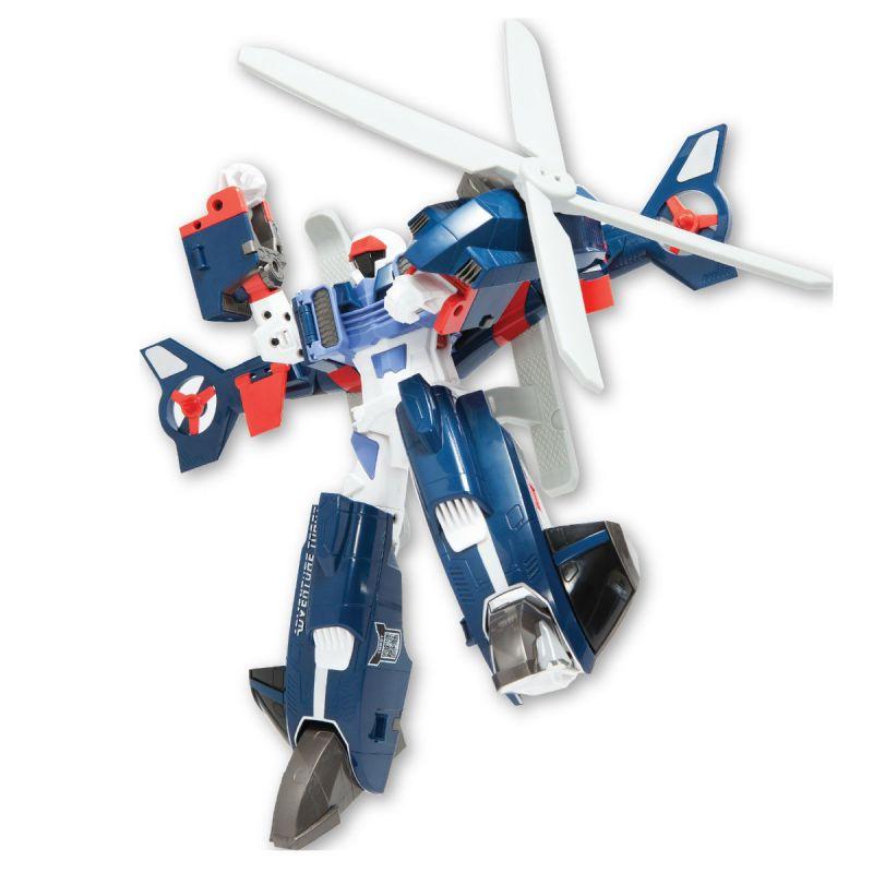 Робот-трансформер Тобот - Приключения YРобот трансформер Приключения Y из серии Тобот - это очень крутая игрушка, которая может из могущественного робота превратиться в быстрый вертолет. С такой функцией перед роботом нет никаких преград! Он сможет долететь в любую точку планеты и разгромить всех своих врагов! Данный робот-трансформер - это персонаж из известного мультфильма Тоботы. Теперь он не только в мультике сможет сражаться со злодеями, но и в реальной жизни.Трансформер изготовлен из пластика и имеет стильный дизайн. Такая игрушка обязательно понравится любому мальчишке.<br>