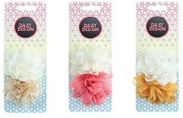 Аксессуар для волос Daisy Design Caramel Соцветие daisy design аксессуар для волос caramel стразы
