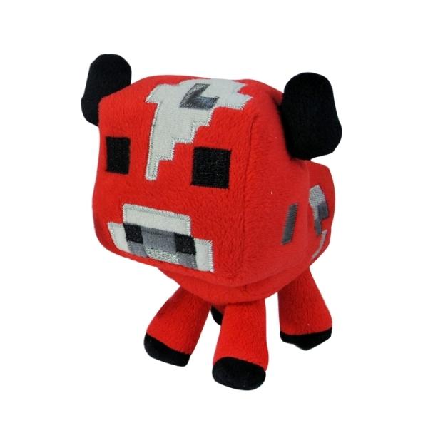 Плюш Minecraft Baby Mooshroom Детеныш грибной коровы (18см)Мягкая игрушка Детеныш грибной коровы из серии Minecraft понравится тем, кто знаком с этой популярной компьютерной игрой или только хочет познакомиться. Малыш очень похож на свою маму красным окрасом и черными глазами. Этот уникальный представитель фауны грибного острова с удовольствием освоит новую среду обитания.<br>