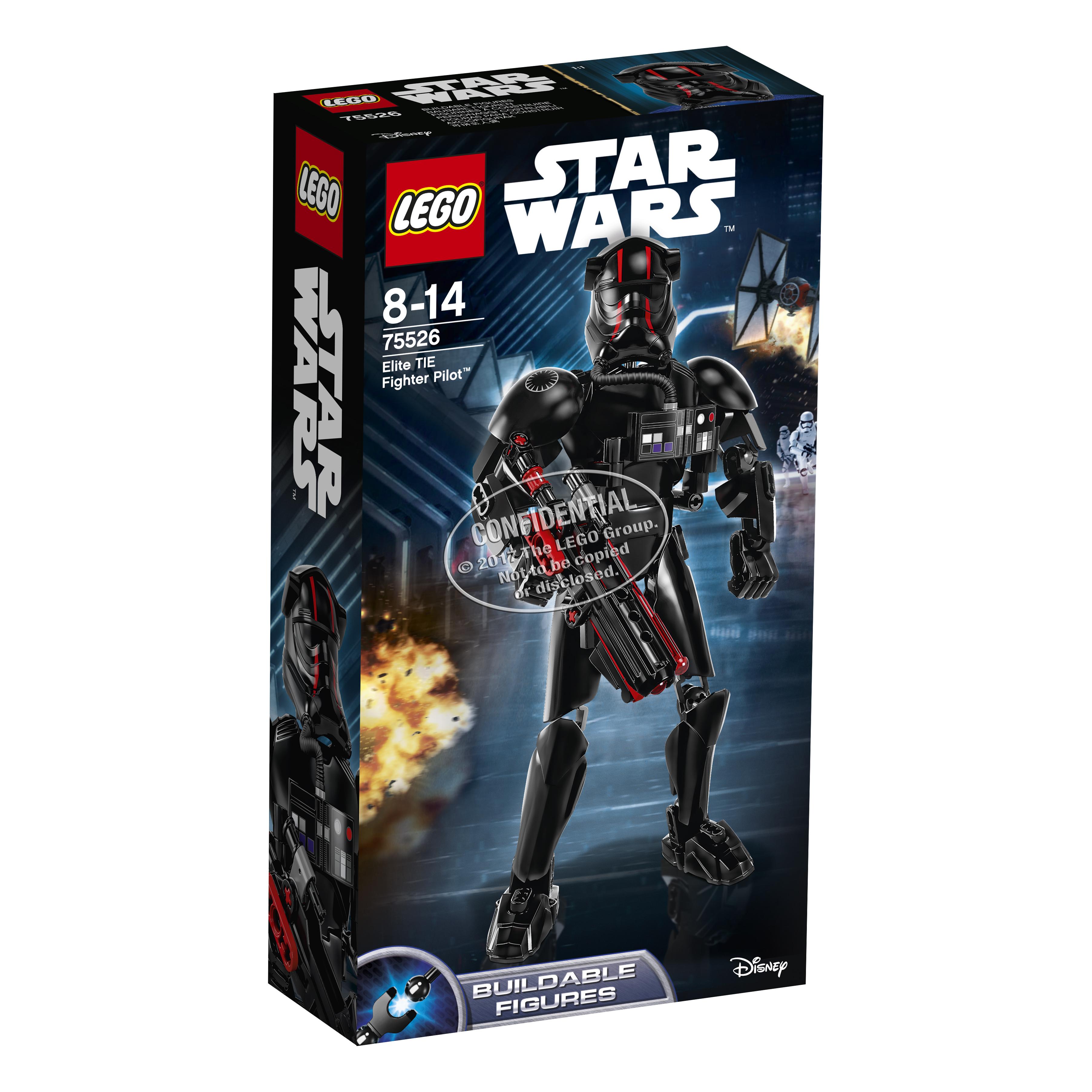 Купить со скидкой Конструктор LEGO Star Wars Constraction 75526 Elite TIE Fighter Pilot