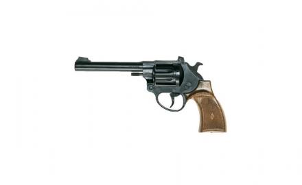 Пистолет Ларами, 20.4 смСтильный восьмизарядный игрушечный пистолет «Ларами» (Laramy Western) станет прекрасным дополнением игры в «войнушку» или в ковбоев. С таким пистолетом почувствоваться себя настоящим шерифом малышу будет совсем не трудно, а яркий и необычный позволит малышу всегда быть в центре внимания.Пистолетик от итальянского бренда Edison Giocattoli — это идеальный пример настоящего европейского качества. Игрушка произведена в Италии и соответствуют установленным мировым и европейским стандартам качества. В процессе изготовления используются только высококачественные материалы, безопасные для детского здоровья.Возраст: от 7 летДля мальчиковЦвет: темно-серый, коричневый.Материалы: высококачественная пластмасса, металл.Размер упаковки: 22 х 11 х 3.5 см.Длина пистолета: 20.4 см.<br>