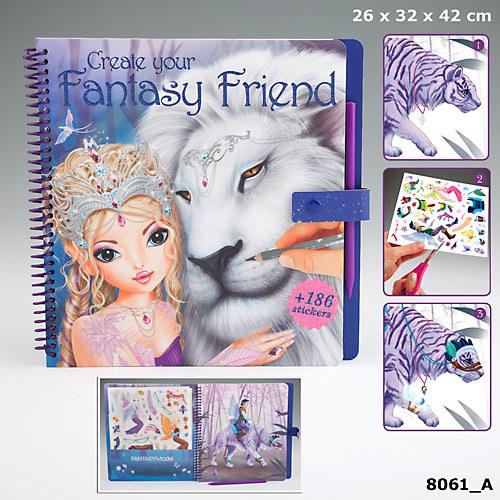 TOPModel Fantasy Friend, раскраска с переводными наклейками