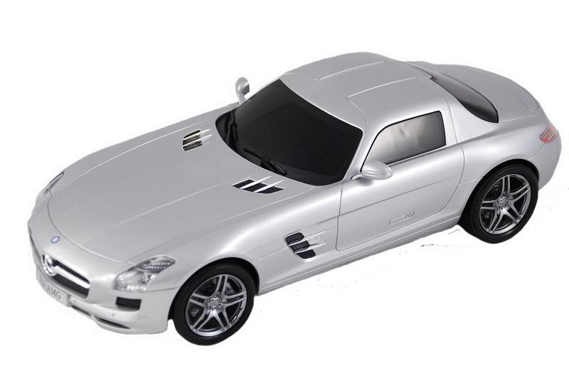 Машинка р/у Mercedes-Benz SLS AMG электромобиль mercedes benz sls amg белый