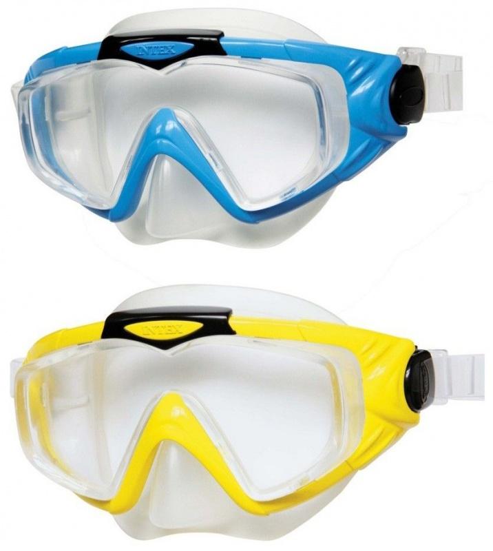 Маска для плавания Intex Silicone Aqua Pro, 2 цв. лифчики для подростков 11 14 лет