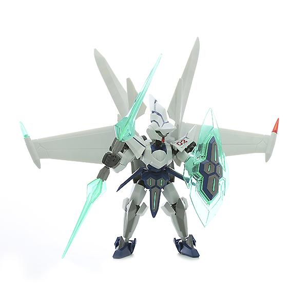 LBX W Сборная модель ОДИН MK-2Популярная серия уникальных сборных моделей LBX создана по мотивам увлекательного аниме Little Battlers Experience (Битвы маленьких гигантов)! Один МК-2- один из его персонажей, шестой робот Вана Ямано. У него устрашающая экипировка и огромные крылья, а вооружен он огромным копьем и полупрозрачным щитом.Отличительная особенность моделей LBX - это то, что при их сборке вам не понадобятся вспомогательные инструменты и материалы, пронумерованные пластиковые детали отделяются от листа-основы и с легкостью соединяются друг с другом. У собранной модели шарнирная система - робот может принимать различные позы, отчего будет еще эффектнее смотреться на полке. Также в комплекте прилагается подробная, оригинально оформленная инструкция.<br>