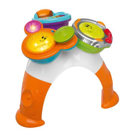 Игрушка 'Музыкально-игровой столик' (DJ-консоль, барабаны, маракасы) музыкальные инструменты chicco музыкально игровой столик dj консоль