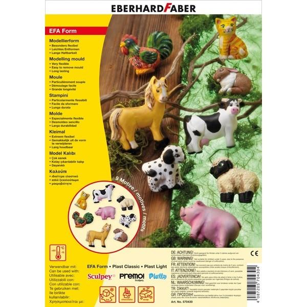 Формы для лепки Домашние животные, набор формочек, в пласт. пакете<br>