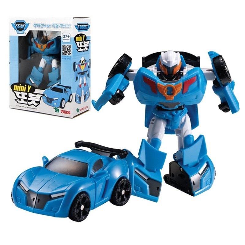 Робот-трансформер Mini Tobot Y купить часы мальчику 7 лет