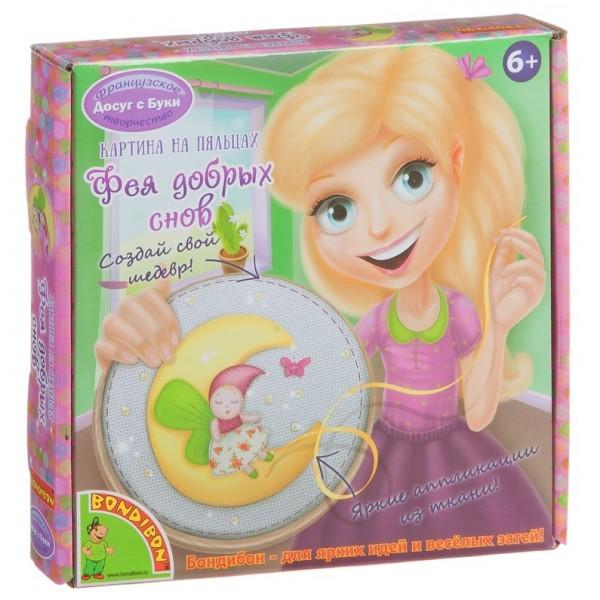 Картина на пяльцах Bondibon Фея выкройки корсетов