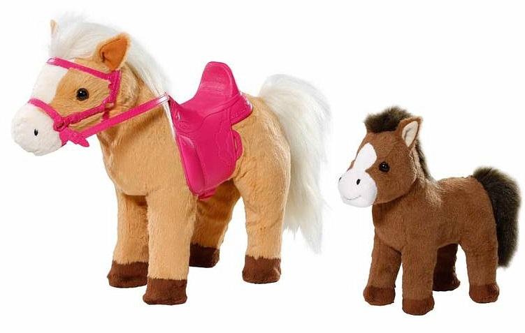Интерактивная игрушка Zapf Baby Born Лошадка с жеребенком лошадка zapf craetion baby born с жеребенком