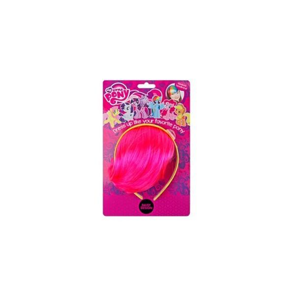 Ободок-челка Daisy Design My Little Pony Пинки ПайОбодок-челка My Little Pony «Пинки Пай» станет отличным подарком для каждой малышки!Ободок-челка станет прекрасным дополнением для карнавального костюма, который поможет девочке больше вжиться в роль всегда жизнерадостной маленькой пони из популярного мультсериала My Little Pony.Аксессуар может украсить самую простую прическу, сделав ее более креативной.Изготовлен из экологически чистых материалов и абсолютно безопасен для ребенка.Размер: 16?25 см.<br>