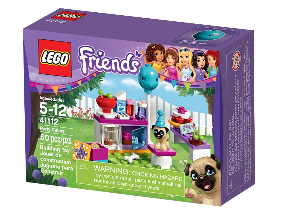 Конструктор Lego Friends 41112 День рождения: тортики