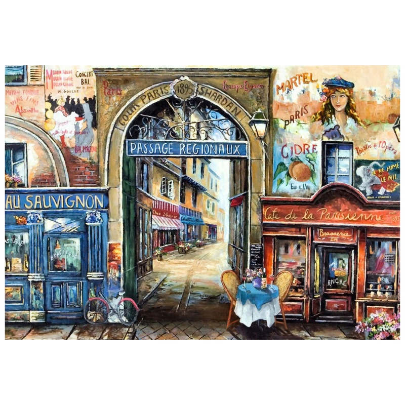 Купить Пазл Улочка в Париже , 1500 элементов