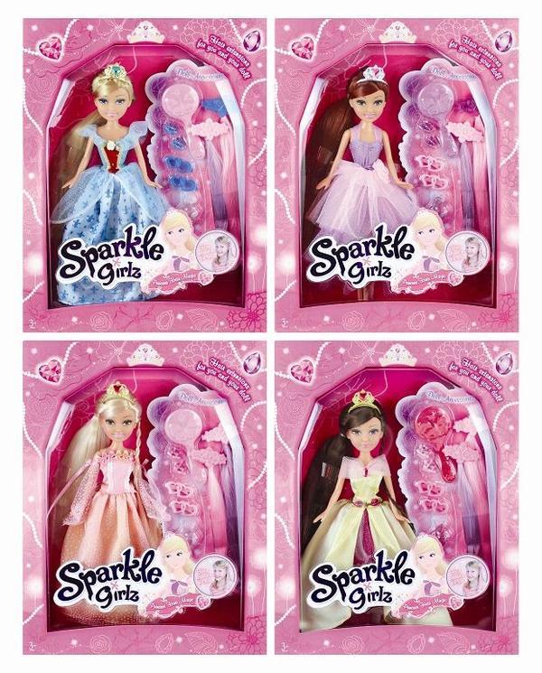 Кукла Brilliance Fair - Принцесса, 26.7 см кукла brilliance fair балерина 26 5 см