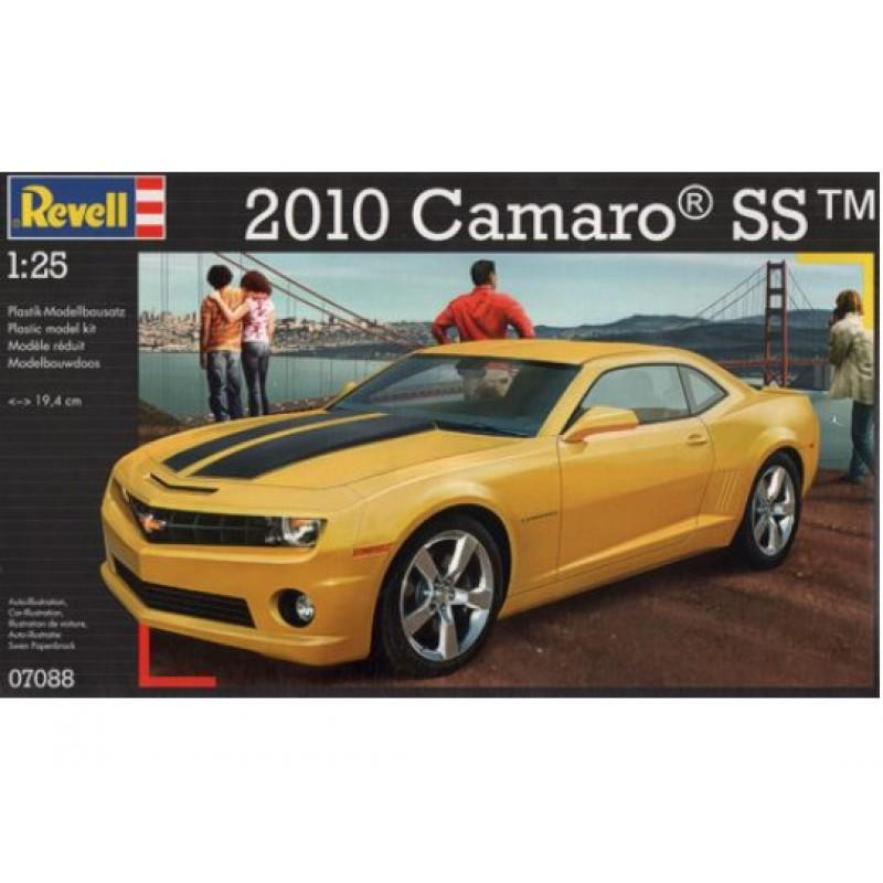 Сборная модель Revell Camaro SS revell model 1 25 scale 85 7457 69 camaro z 28 rs plastic model kit