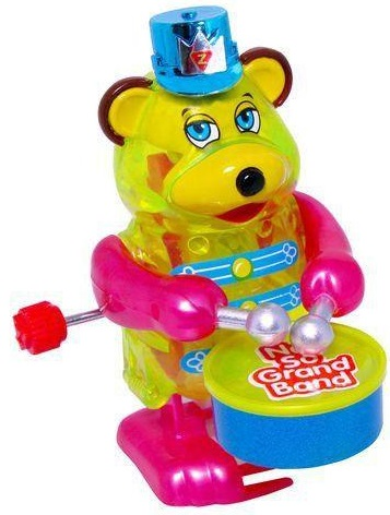 Заводная игрушка Z WindUps Медведь с барабаном