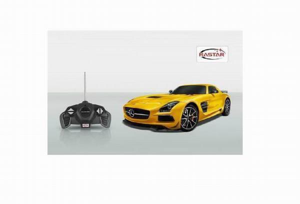 Машина р/у 1:18 Mercedes-Benz SLS AMG модель автомобиля 1 18 motormax mercedes benz slk55 amg