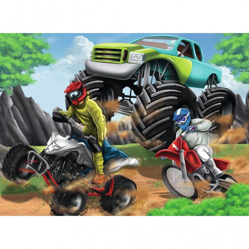 Пазл Мощные машины, 200 элементов какой мотоцикл бу можно или квадроцикл за 30 000