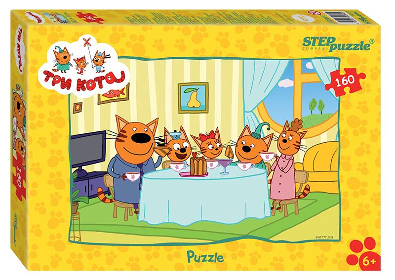 """Купить со скидкой Мозаика """"puzzle"""" 160 """"Три кота"""" (АО """"СТС"""")"""