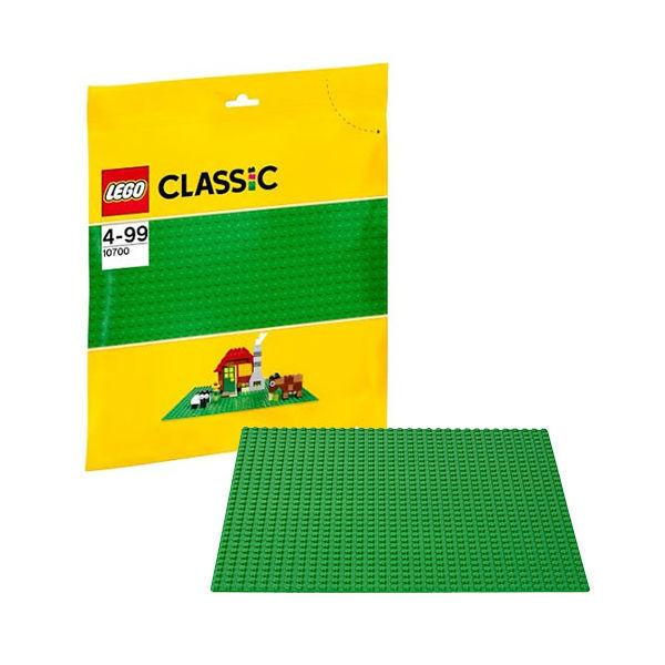 Конструктор Lego Classic 10700 Строительная пластина зеленого цвета lego lego classic строительная пластина зеленого цвета