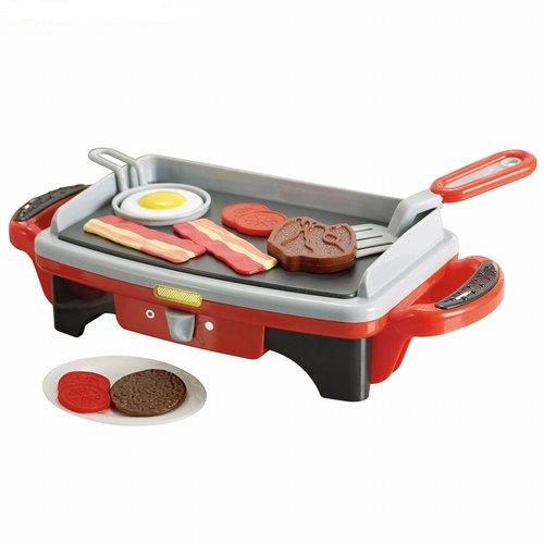 Кухонная плита-гриль Playgo с аксессуарами playgo набор с аксессуарами