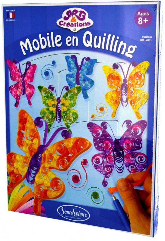 Набор для творчества Sentosphere Бабочки наборы для лепки sentosphere набор для творчества текстурный пластилин серия патабул