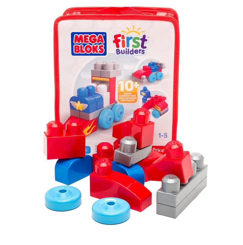 Конструктор Mega Bloks - First Builders, 20 деталей guide craft магнитный конструктор better builders career people