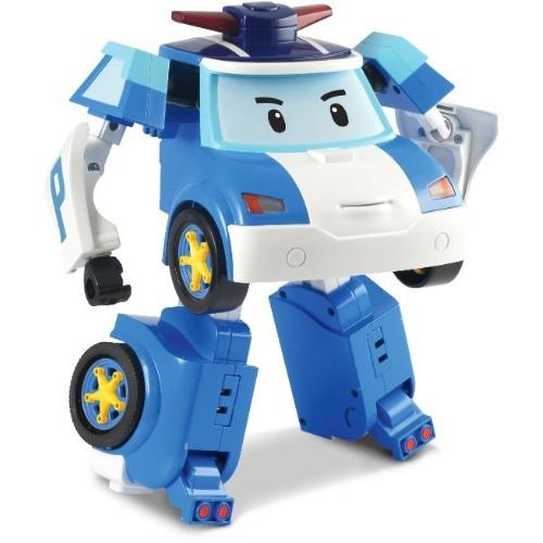 Купить Радиоуправляемый робот-трансформер Поли (на бат., свет, звук), 31 см