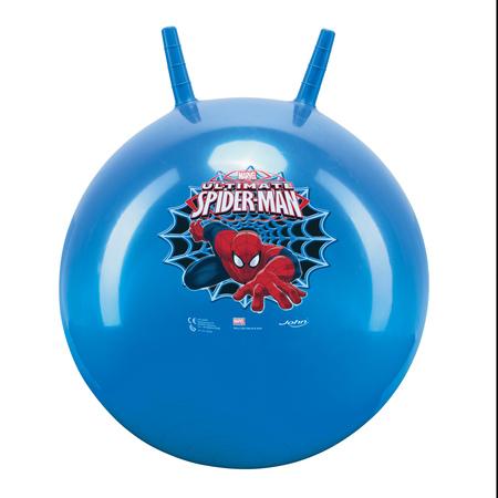 Мяч-попрыгун 45-50 см Человек-ПаукЯркий, красочный мяч-попрыгун 45-50 см Человек-Паук станет отличным помощником для ежедневной зарядки и веселых игр. Оформленный в стиле популярного мультфильма, он особенно придется по вкусу его фанатам.Веселый прыгун Такой мяч наверняка завоюет внимание вашего малыша с первых минут. На нем можно весело прыгать, держась за специальные ручки. Сделанный из прочного, но одновременно мягкого материала, ПВХ, он легко выдерживает нагрузку до 45 кг.Качественный материал долгое время удерживает воздух, а потому мяч не теряет форму, остается упругим, способствует веселому времяпровождению. С помощью такого мяча ребенок будет активно развивать свои физические способности. Купить мяч-попрыгун 45-50 см Человек-Паук на нашем сайте вы можете круглосуточно, доставка осуществляется во все регионы РФ.<br>
