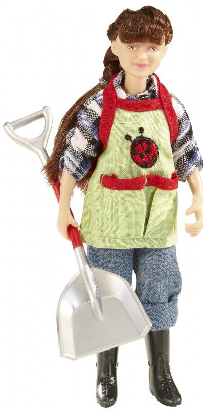 Набор Breyer Кукла Оливия с садовыми аксессуарами breyer трактор с аксессуарами
