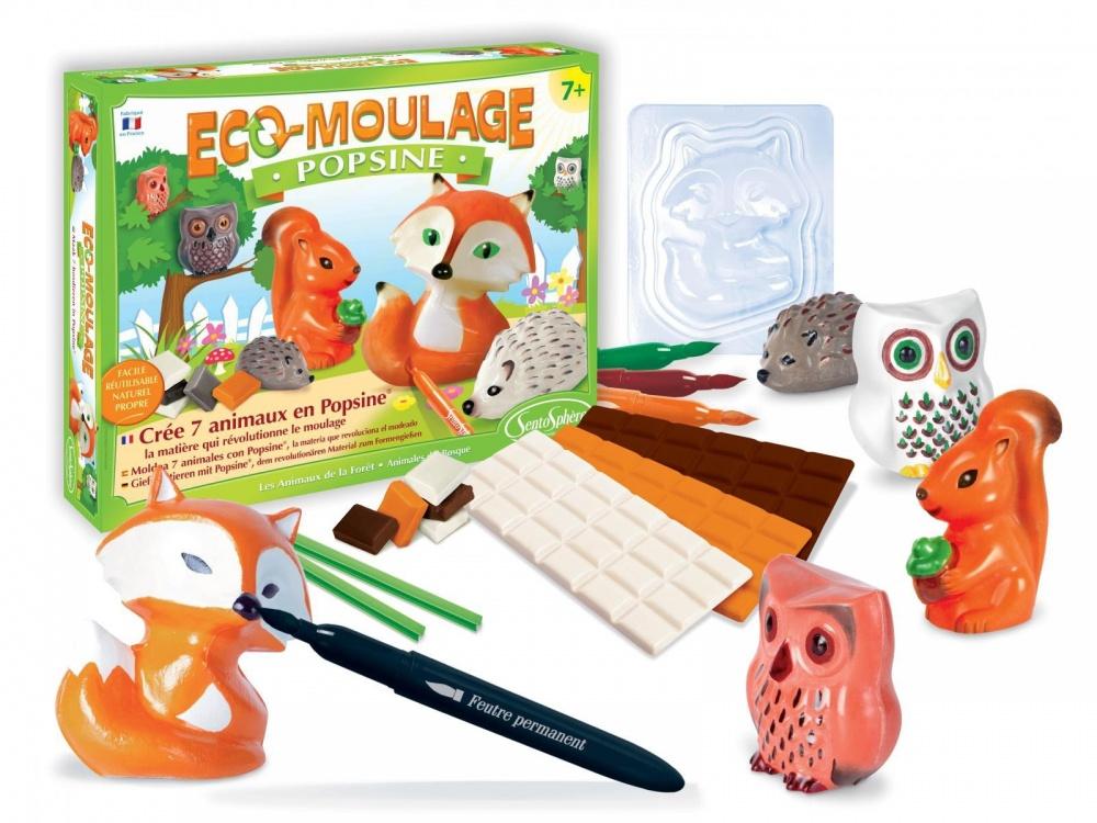 Набор для творчества POPSINE - Лесные животные наборы для лепки sentosphere набор для творчества popsine лесные животные